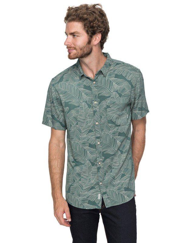 0 Variable Short Sleeve Shirt Green EQYWT03649 Quiksilver