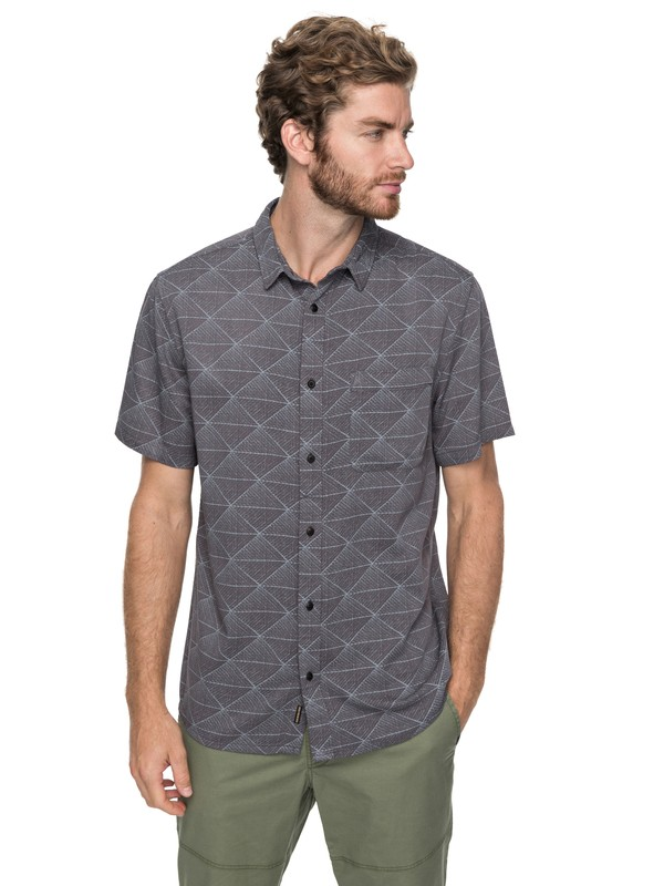 0 Variable Short Sleeve Shirt Black EQYWT03649 Quiksilver