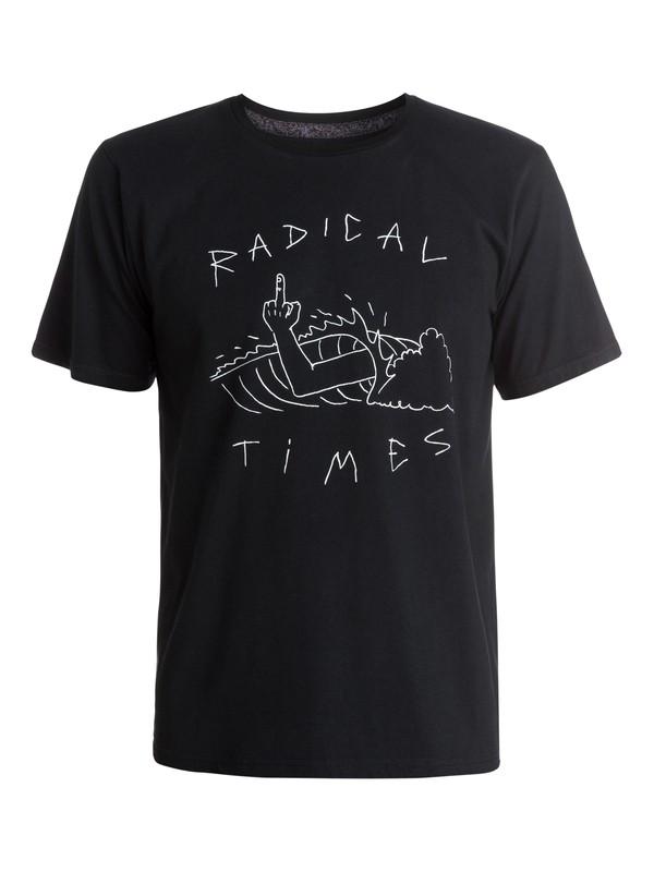0 Radical Tube - T-shirt  EQYZT03365 Quiksilver