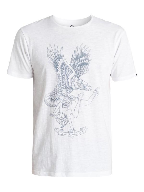 0 Slub Eagles Nest - T-shirt  EQYZT03394 Quiksilver