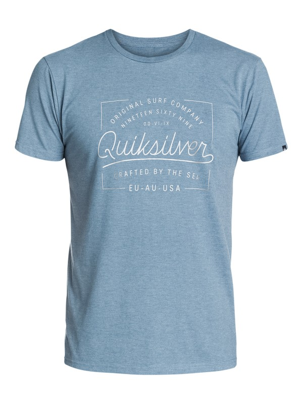 0 Slub Crafted - T-shirt  EQYZT03395 Quiksilver