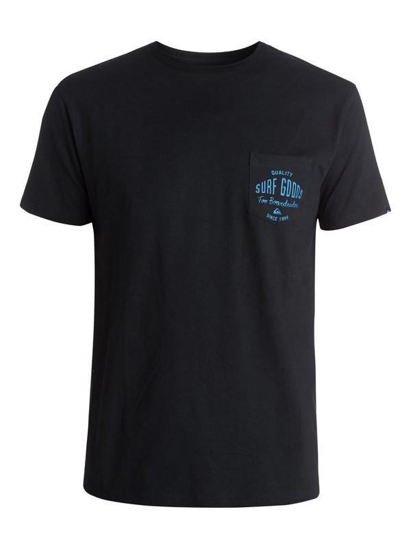 0 Tee Pocket Squid Lips - T-shirt pocket tee  EQYZT03396 Quiksilver