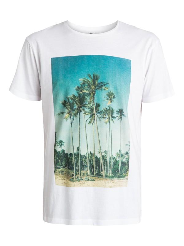 0 Garment Dyed Hidden Logo - T-shirt  EQYZT03406 Quiksilver