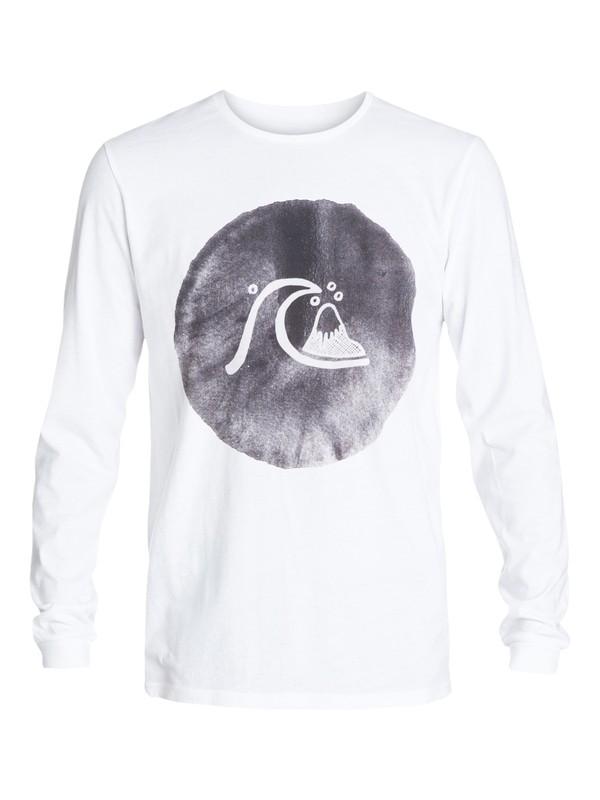 0 Garment Dyed Ink Bubble - T-shirt manches longues  EQYZT03409 Quiksilver