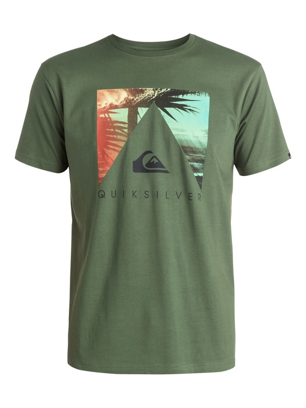 0 Classic Vanishing Point - T-shirt  EQYZT03419 Quiksilver