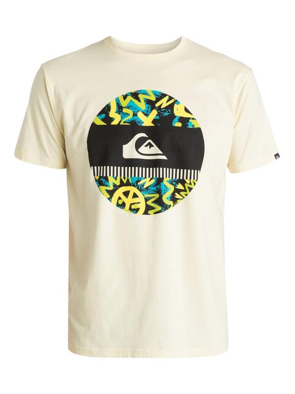 0 Classic Disco Biscuit - T-shirt  EQYZT03421 Quiksilver