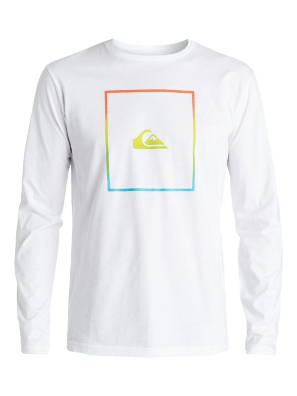 0 Classic Shut Up And Surf - T-shirt manches longues  EQYZT03437 Quiksilver