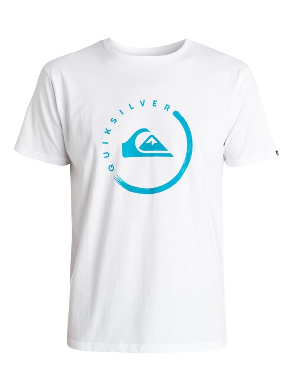 0 Classic Active Logo Ink - T-shirt  EQYZT03440 Quiksilver