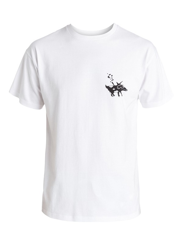 0 Snorkel Ghetto Dog - T-shirt collaboration Quiksilver X Julien David  EQYZT03485 Quiksilver