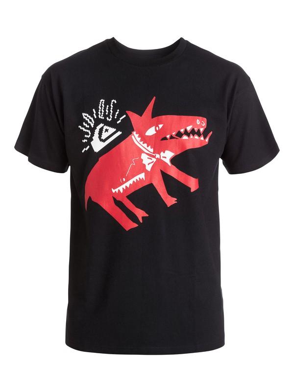 0 Julien David Classy Ghetto Dog T-Shirt  EQYZT03487 Quiksilver