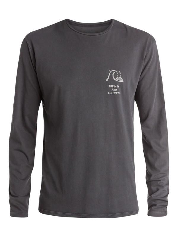 0 Sunset Blast Long Sleeve T-Shirt  EQYZT03526 Quiksilver