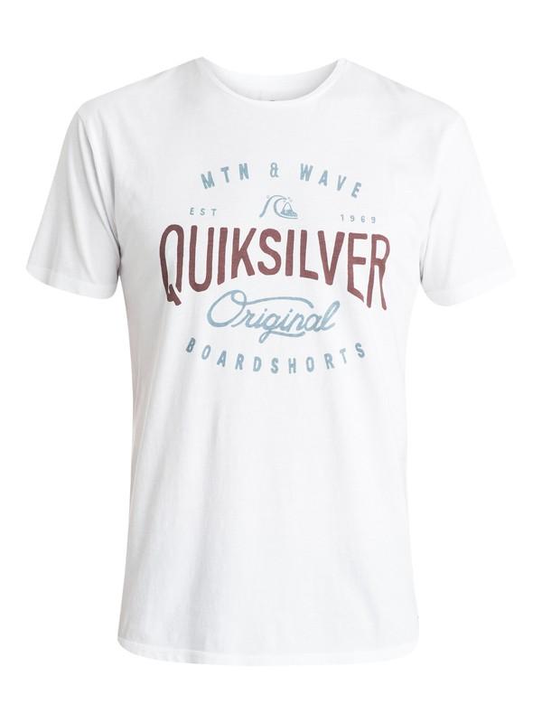 0 Dual Fuel Premium Fit T-Shirt  EQYZT03531 Quiksilver
