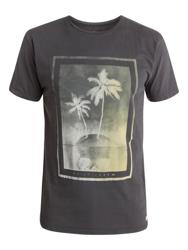0 Skull Island Premium Fit T-Shirt  EQYZT03532 Quiksilver
