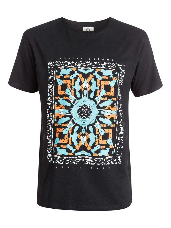 0 Short Circuit Remix - T-shirt  EQYZT03556 Quiksilver