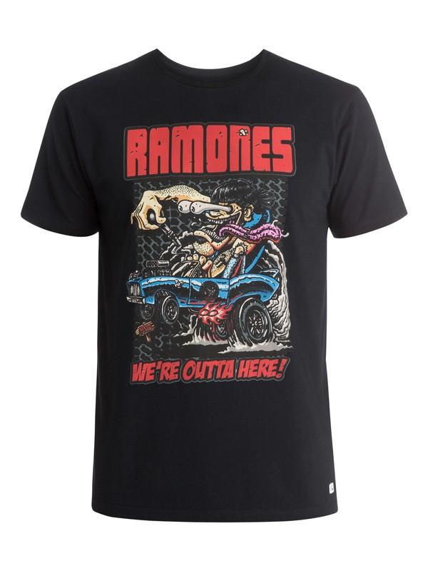 0 Ramones T-Shirt  EQYZT03574 Quiksilver