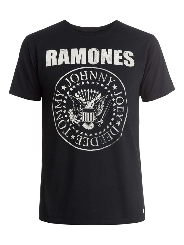 0 Ramones Band T-Shirt  EQYZT03575 Quiksilver