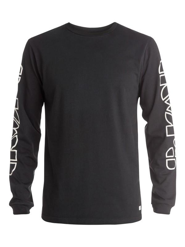 0 The Doors Logo Long Sleeve T-Shirt  EQYZT03576 Quiksilver