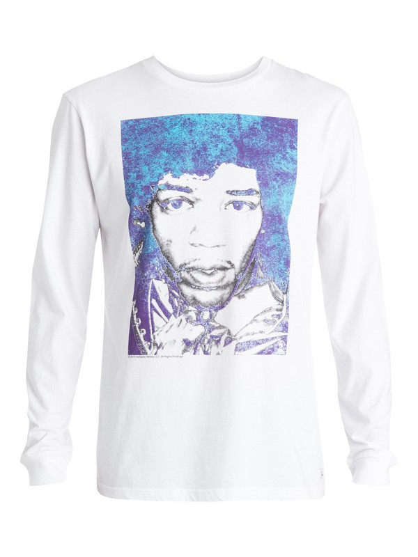 0 Hendrix White - T-shirt  EQYZT03594 Quiksilver