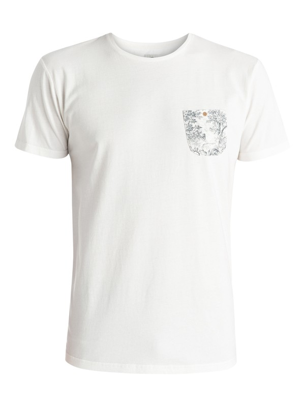0 Dip In - T-shirt Blanc EQYZT03602 Quiksilver