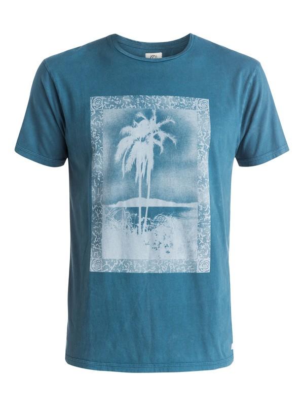 0 Postcard - T-shirt Bleu EQYZT03603 Quiksilver