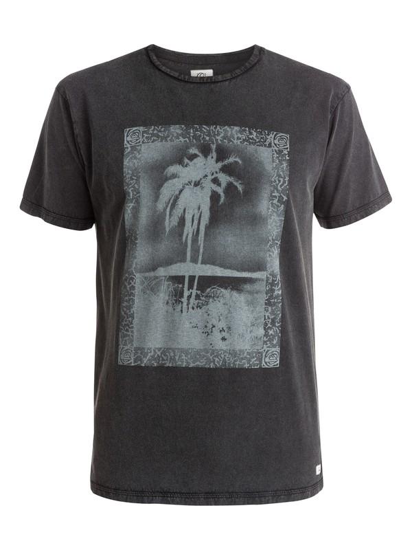 0 Postcard - T-shirt Noir EQYZT03603 Quiksilver