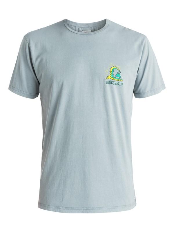 0 Storm - T-shirt Gris EQYZT03604 Quiksilver