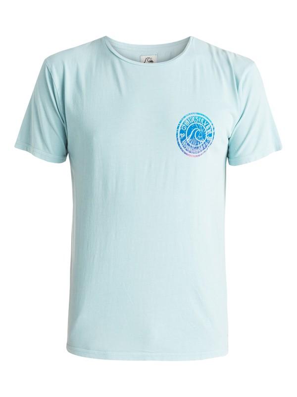 0 Garment Dyed Spiral - T-shirt  EQYZT03609 Quiksilver