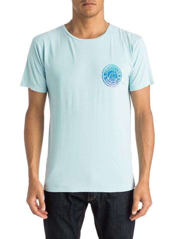 0 Garment Dyed Spiral Premium Fit Tee  EQYZT03609 Quiksilver