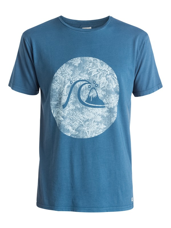 0 Garment Dyed Sunset Tunels - T-shirt  EQYZT03610 Quiksilver