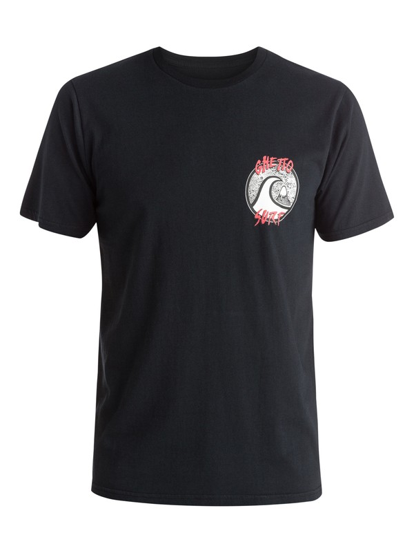 0 Ghetto Surf - T-shirt  EQYZT03612 Quiksilver