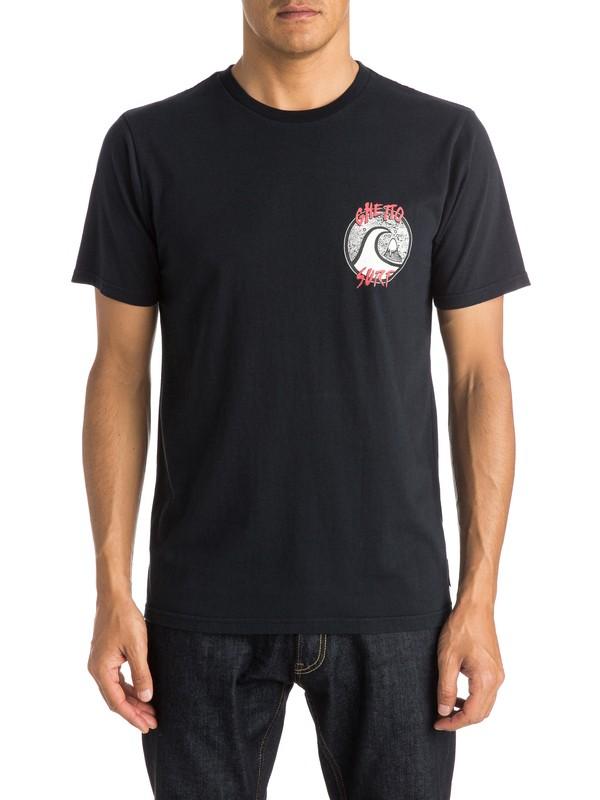 0 Ghetto Surf - T-shirt  EQYZT03612 Quiksilver