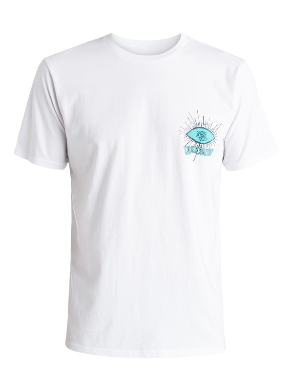0 Gateway - T-shirt Blanc EQYZT03614 Quiksilver