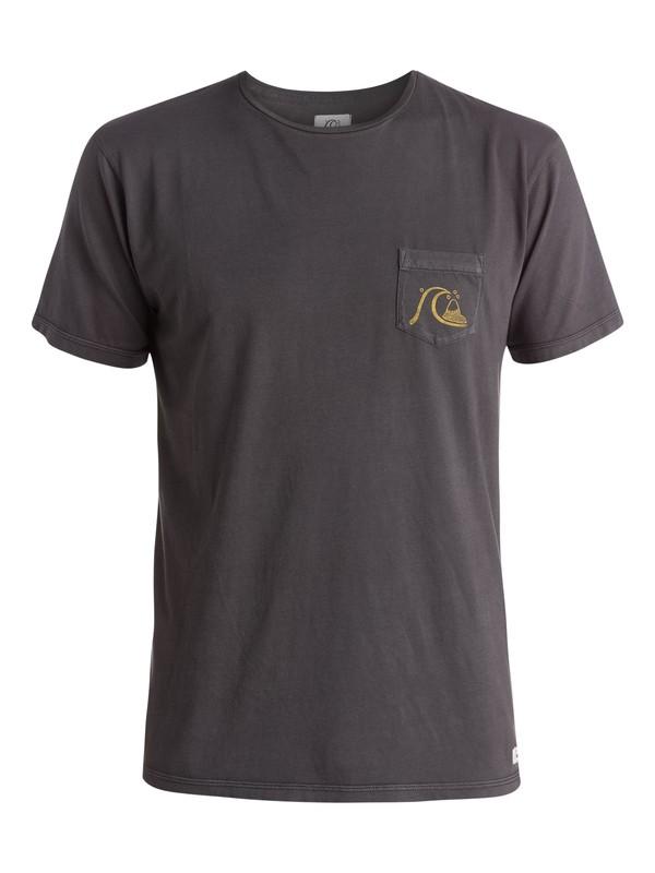 0 Por Favor - T-shirt  EQYZT03617 Quiksilver