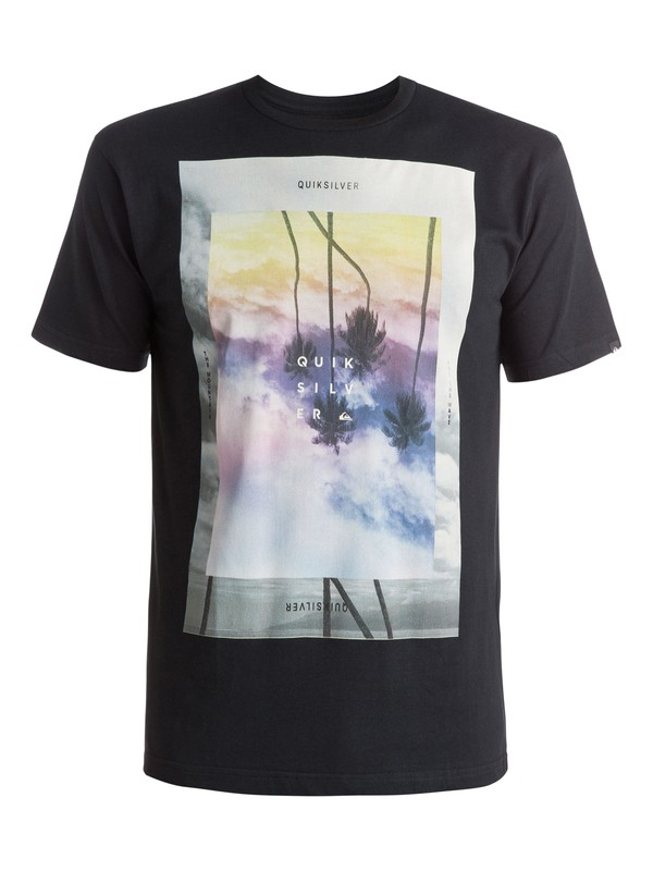 0 Classic Dark Palms - T-shirt  EQYZT03626 Quiksilver