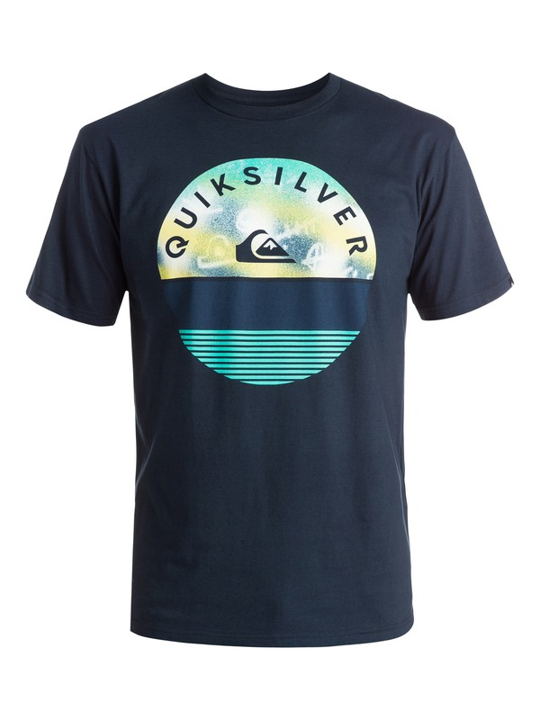 0 Classic Extinguished - T-shirt Bleu EQYZT03629 Quiksilver