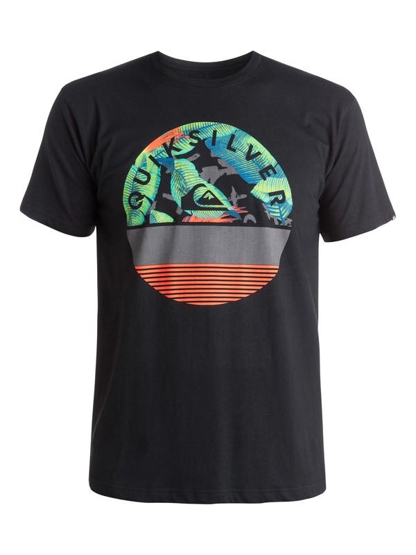 0 Classic Extinguished - T-shirt Noir EQYZT03629 Quiksilver