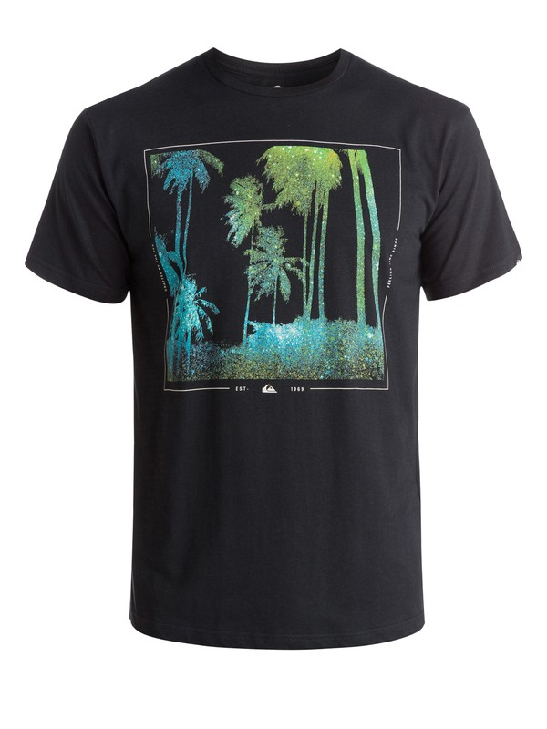 0 Classic Night Vision - T-shirt  EQYZT03630 Quiksilver
