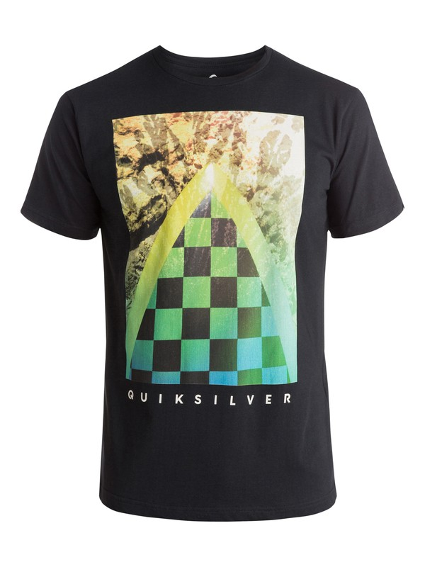 0 Classic Checker Channel - T-shirt  EQYZT03631 Quiksilver