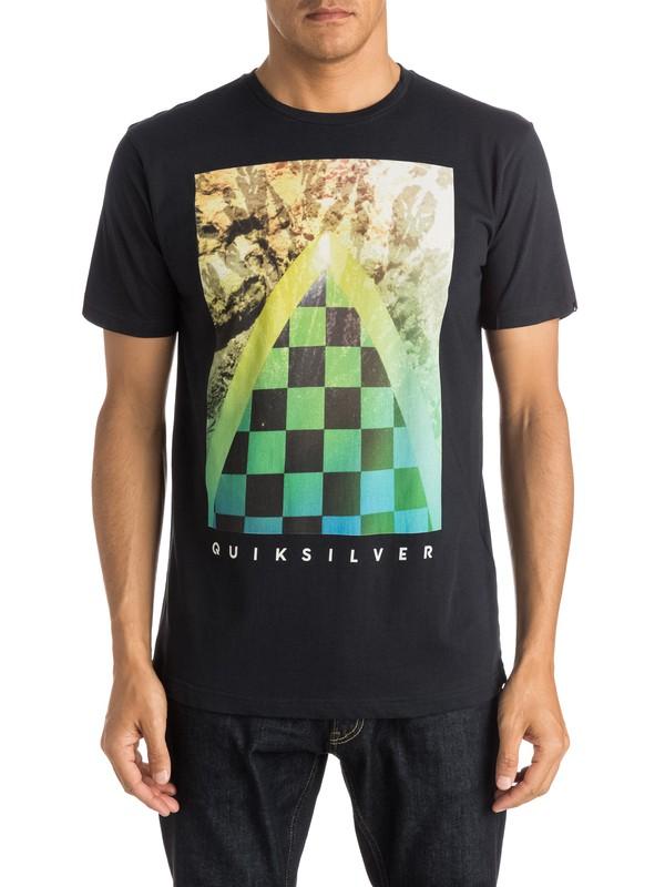 0 Classic Checker Channel - T-shirt  EQYZT03631 Quiksilver