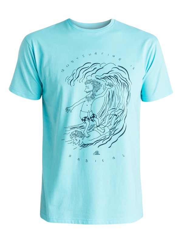 0 Classic Radical Surfing - T-shirt  EQYZT03637 Quiksilver