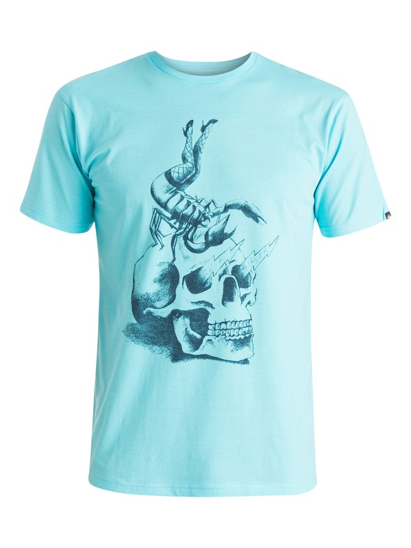 0 Classic Scorpion Rules - T-shirt  EQYZT03638 Quiksilver