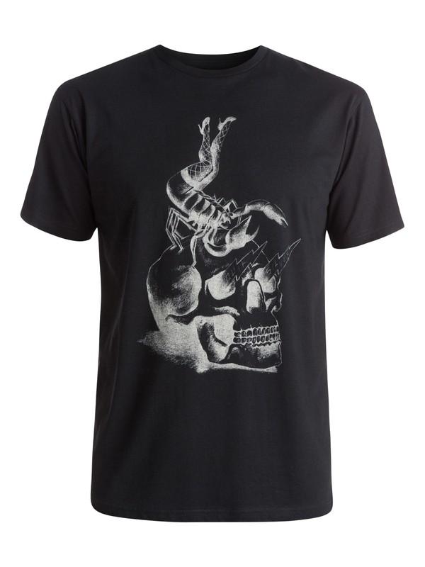 0 Classic Scorpion Rules - T-shirt Noir EQYZT03638 Quiksilver