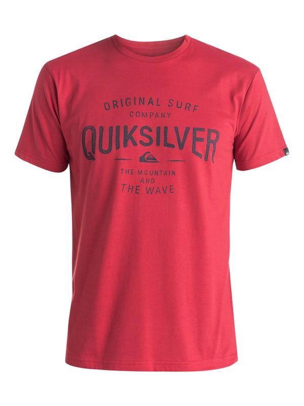 0 Classic Claim It - T-shirt Rouge EQYZT03640 Quiksilver