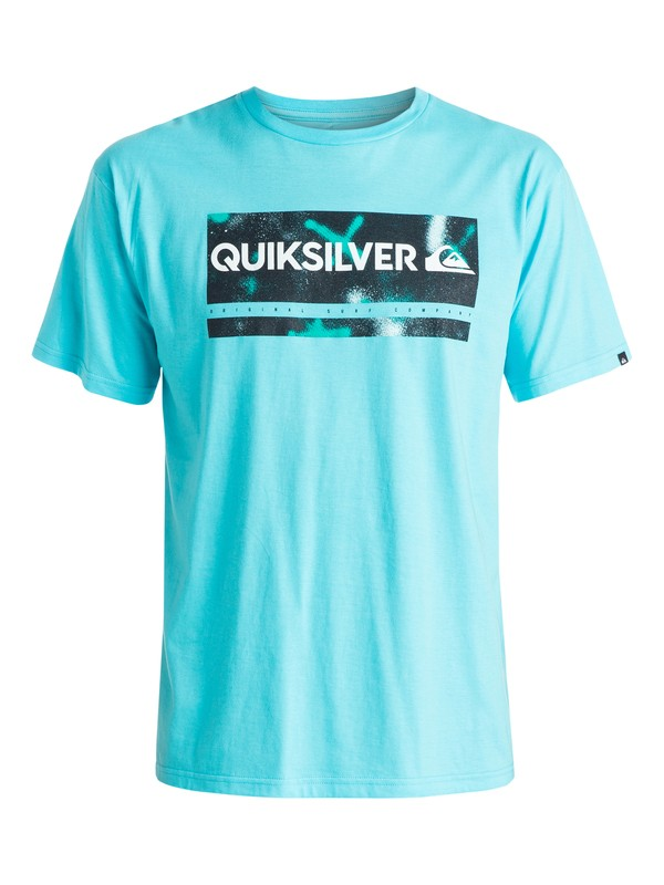 0 Classic Check My Spray - T-shirt  EQYZT03642 Quiksilver
