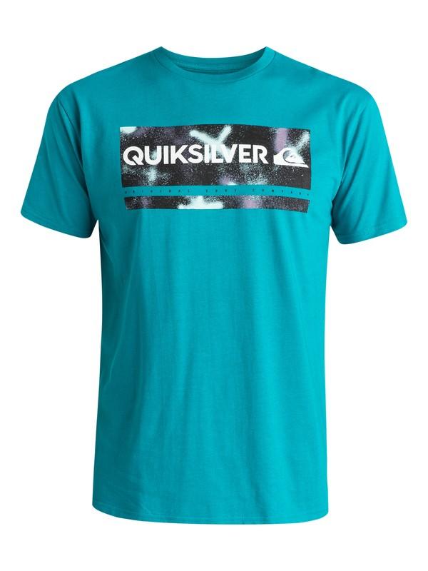 0 Classic Check My Spray - T-shirt  EQYZT03642 Quiksilver