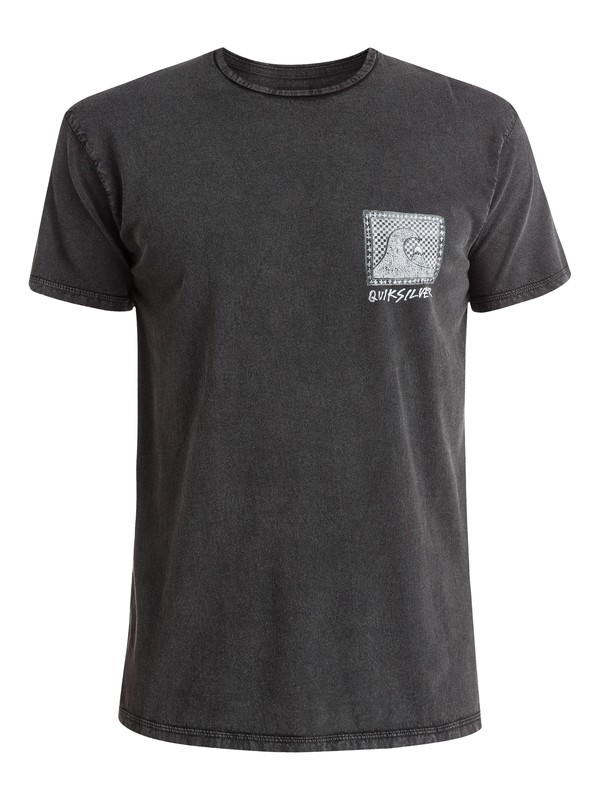 0 Checkered Past - T-shirt  EQYZT03643 Quiksilver