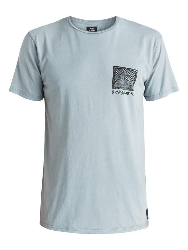 0 Checkered Past - T-shirt Gris EQYZT03643 Quiksilver