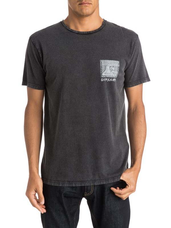 0 Checkered Past Premium Fit Tee  EQYZT03643 Quiksilver