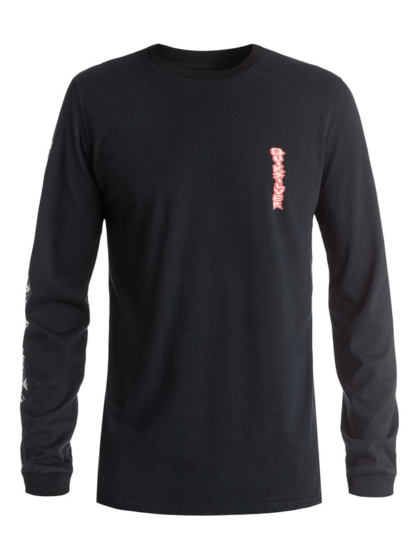 0 Dark Rituals Totem - T-shirt manches longues  EQYZT03650 Quiksilver