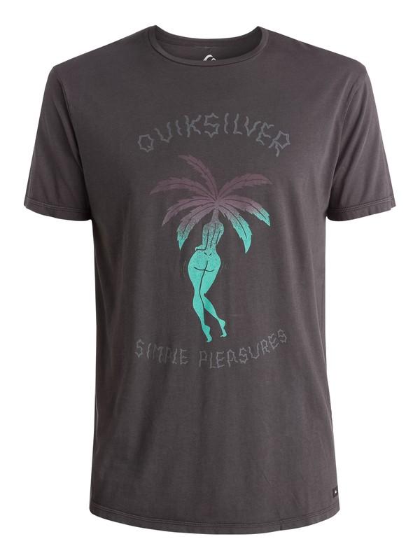 0 Island Pleasures - T-shirt Noir EQYZT03657 Quiksilver